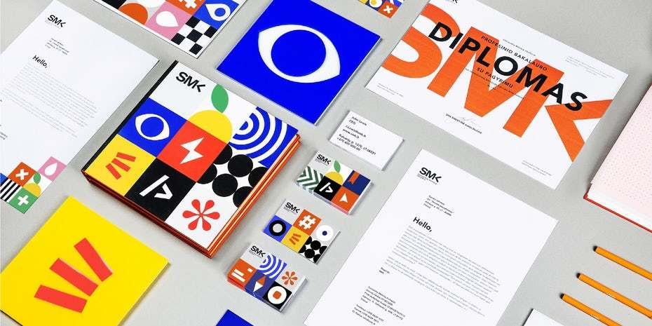 Visual identity for the University of Applied Social Sciences